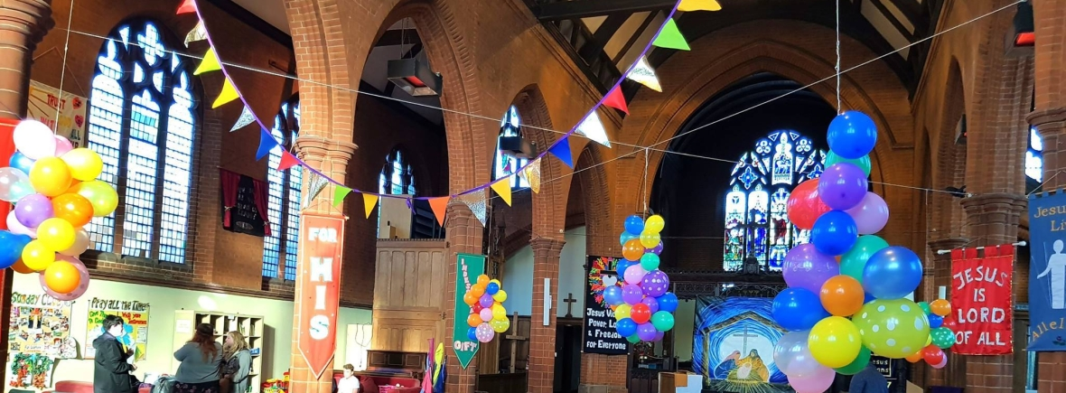 Ipswich All Saints church party